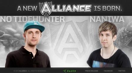 Alliance - новая мультигейминговая команда