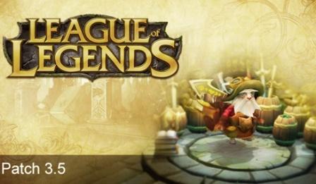 League of Legends patch 3.5
