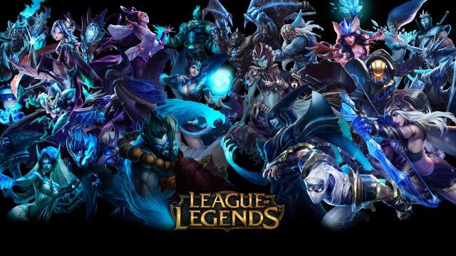 Количество активно играющих в League of Legends