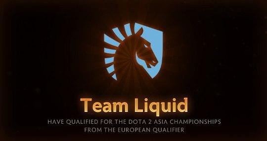 Dota 2 Asia Championships - победа Liquid в Европе