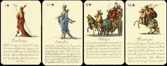 Экскурс в историю - игральные карты.
