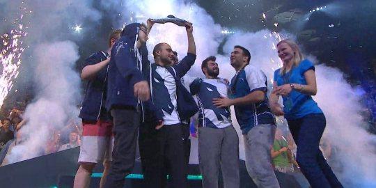 Team Liquid - чемпионы мира 2017 года.