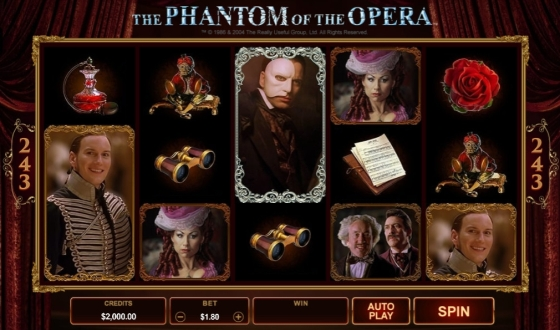 Где играть в The Phantom Of The Opera