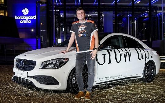Mercedes - награда лучшему игроку турнира по Dota 2