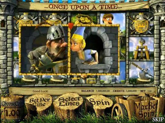 Скриншот игры Rumpel Wildspins.