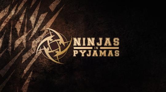 Логотип команды Ninjas in Pyjamas