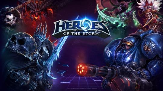 Скриншот из игры Heroes of the Storm