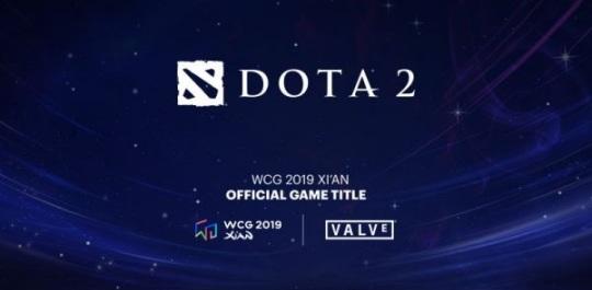 Промо-баннер WCG 2019 Dota 2
