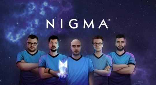 Состав Nigma по Dota 2