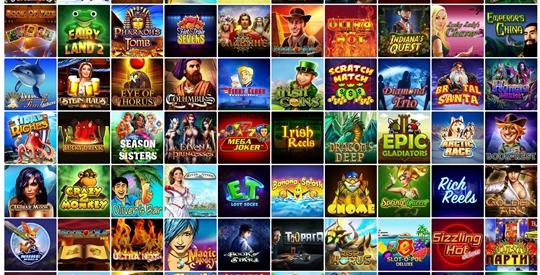 Много разных одноруких бандитов в онлайн-казино