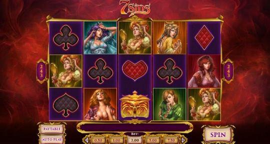 7 Sins на восток казино