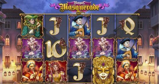 Royal Masquerade на казино Восток